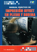 """Portada de """"Manual práctico de impresión offset en pliego y bobina"""""""