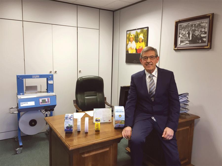 Alberto Espín, director gerente de ATS-Tanner Sistemas de Enfajado