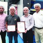 V & V Interflexo y Agraf Industrial reciben premios de Andigraf