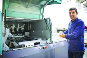 La Trama Digital Print innova en España con el equipo de Impresión Industrial Jet Press 720S