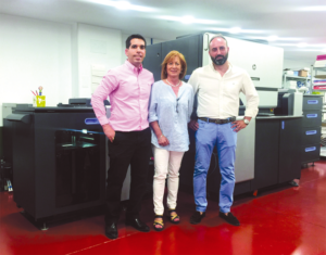 ImprimoVerde instala su primera prensa digital HP Indigo 7600