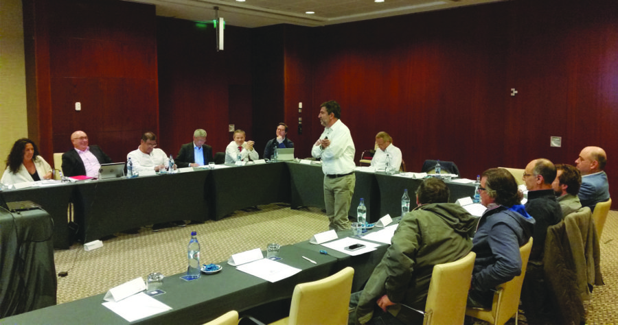 Presentación de ANFEC en Lisboa