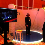 Experiência de realidade virtual