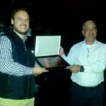 Invitados y prensa latinoamericana en la entrega de premios durante EFI Connect