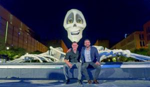 Moti Digital crea un esqueleto humano colosal con Massivit 1800 3D