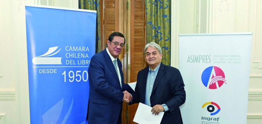 Asimpres firma convenio con la Cámara Chilena del Libro