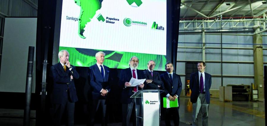 Papelera Dimar inaugura sus nuevas instalaciones