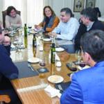 La presidenta de Asimpres se reúne con empresas socias