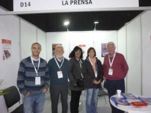 Equipo de La Prensa en Print Stgo 2018