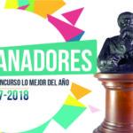 """Ganadores del concurso """"Lo Mejor del Año 2017-2018"""""""