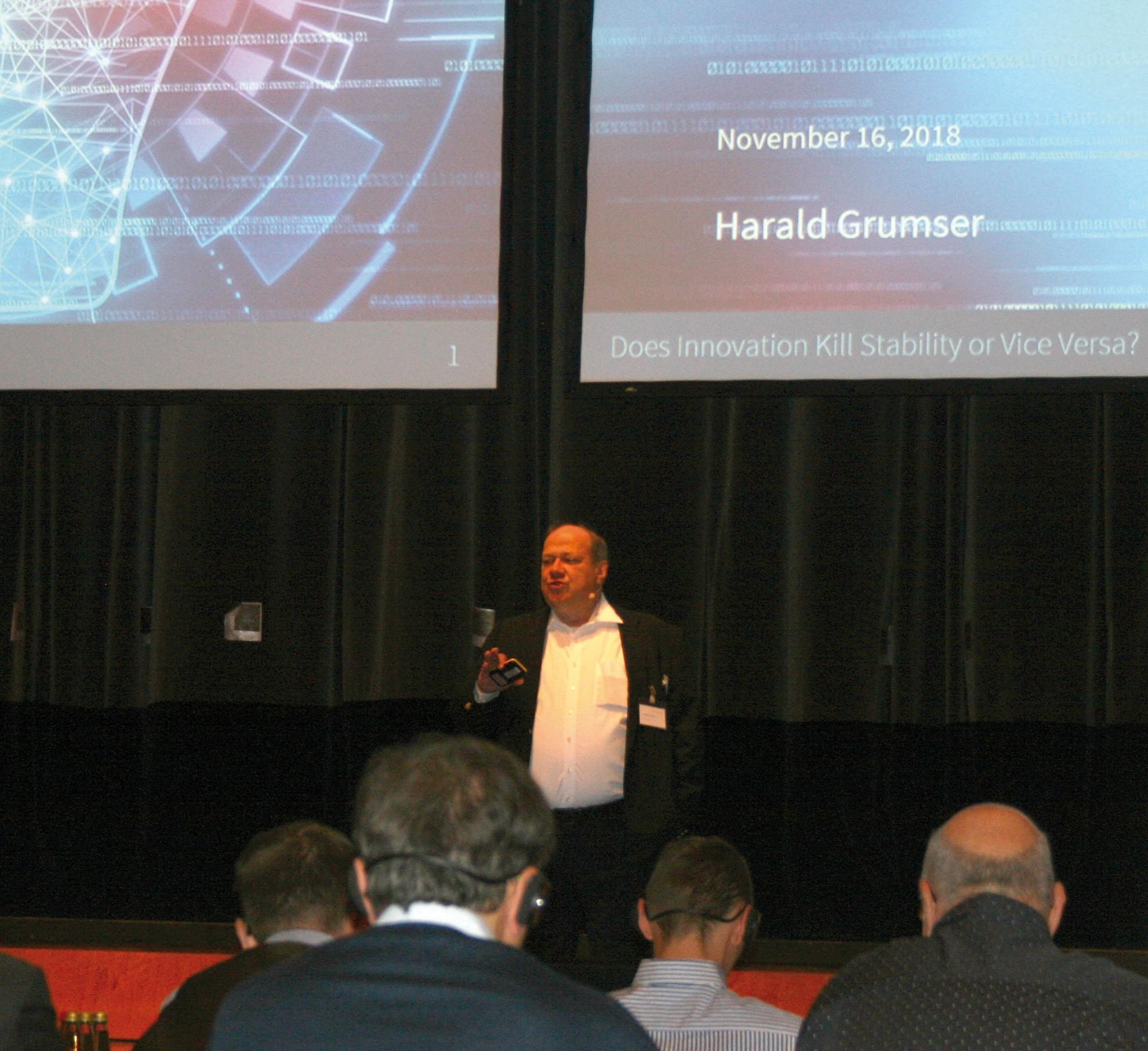 Harald Grumser, fundador y CEO de Compart.