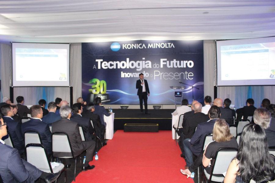 Konica Minolta celebra 30 anos de Brasil
