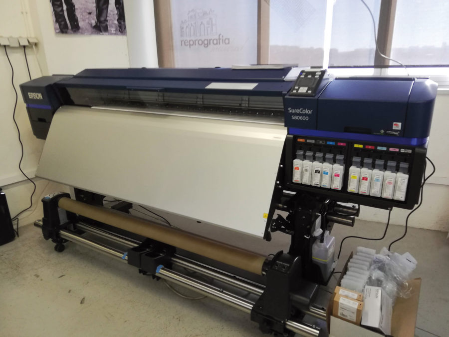 plotter Epson Sure Color 80600 en Reprografia Madrid