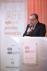 José Manuel Lopes de Castro, Presidente da Apigraf.