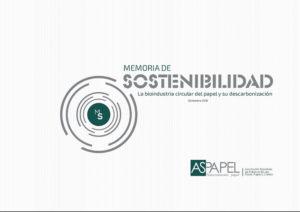 Quinta edición de la Memoria de Sostenibilidad del Papel