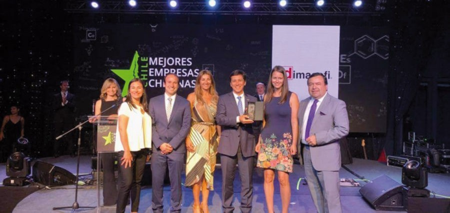 Dimacofi reconocida entre las Mejores Empresas Chilenas 2018