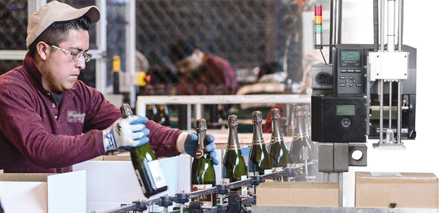 Solução abrangente de rotulagem para o setor vitivinícola - Toshiba