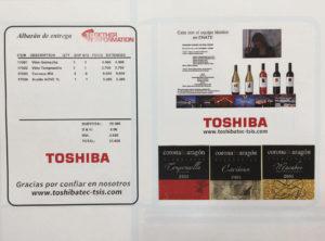 solución Form & Label de Toshiba