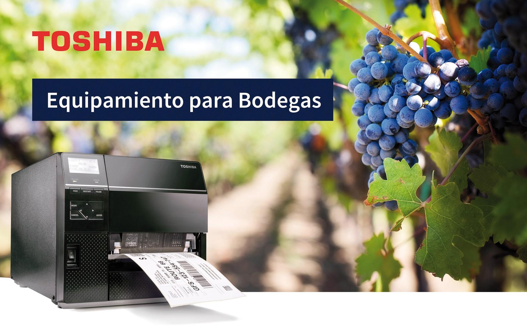 Toshiba apresenta sua solução abrangente de rotulagem para o setor vitivinícola