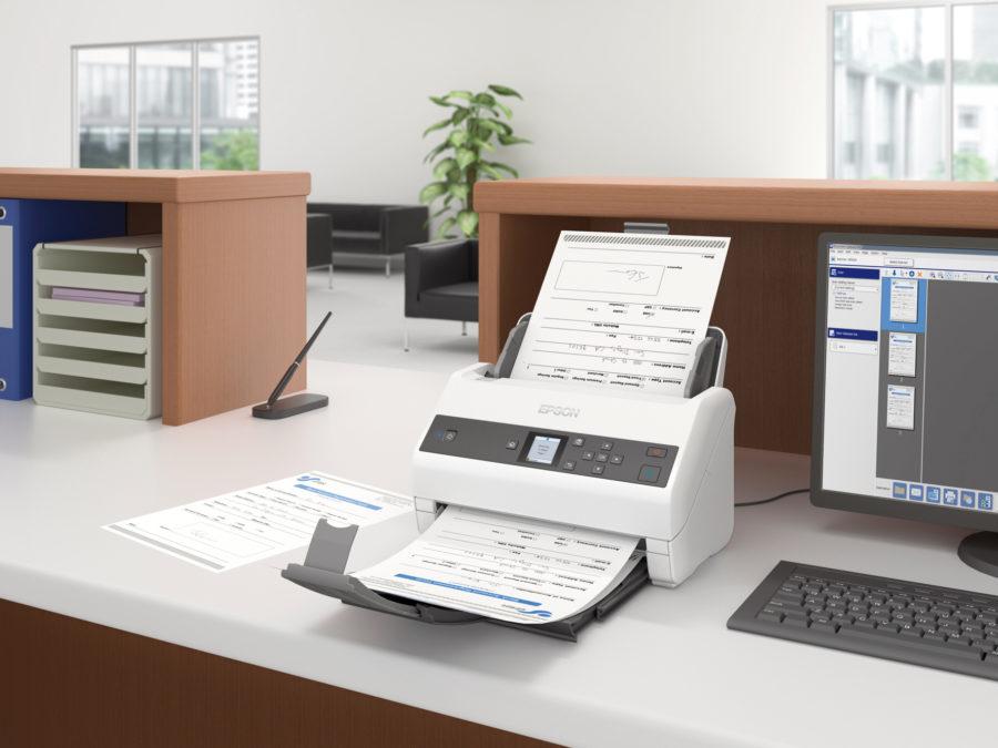 Escáneres de documentos de Epson