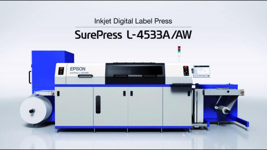 Epson y Cadegroup anuncian la instalación de la primera SurePress L4533/AW