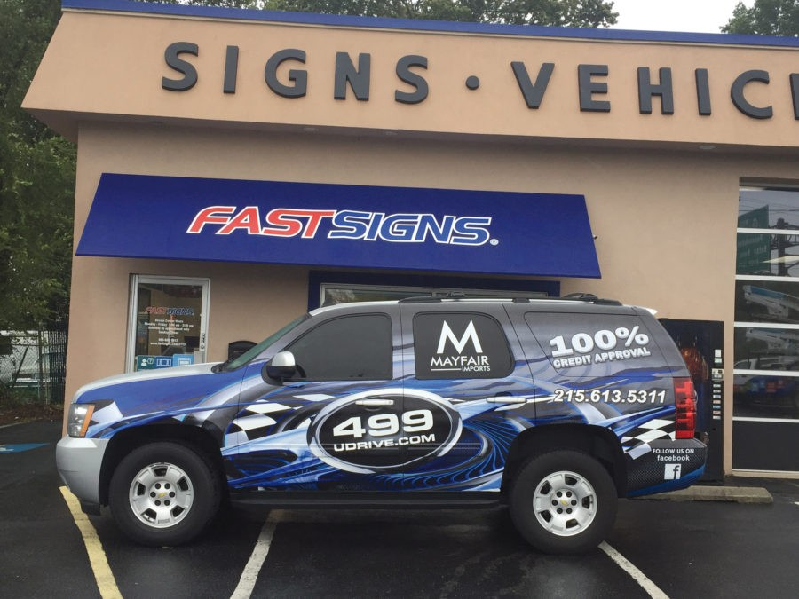 Fastsigns de Maple Shade confía en SAi Flexi