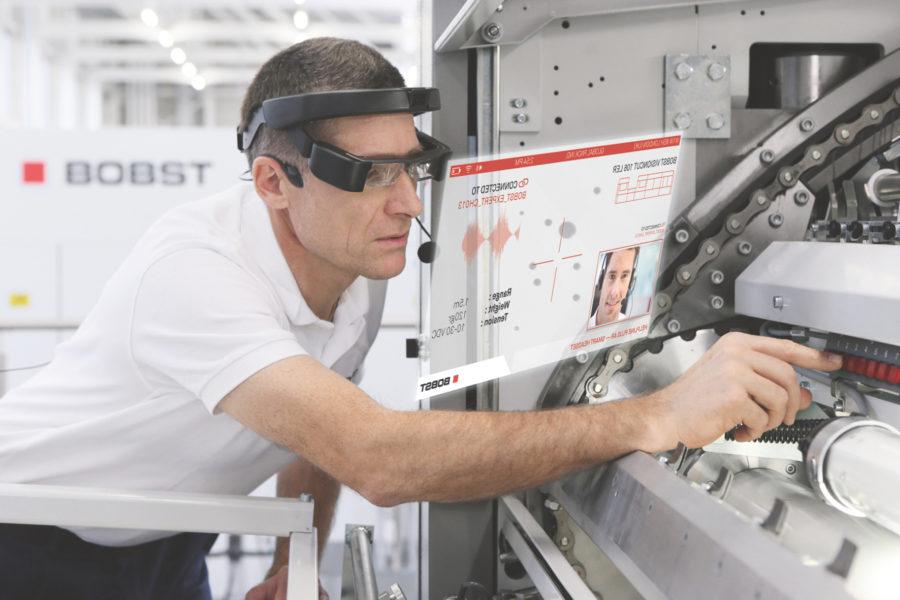 Bobst lanza un servicio de asistencia técnica con realidad aumentada