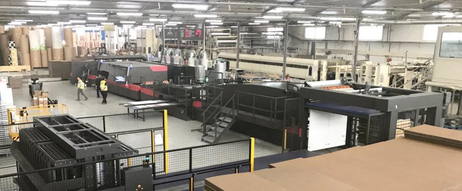 Hinojosa adquiere dos impresoras para packaging de EFI