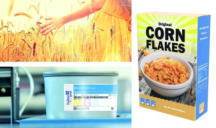 hubergroup lança uma tinta universal para embalagens de comida de papelão