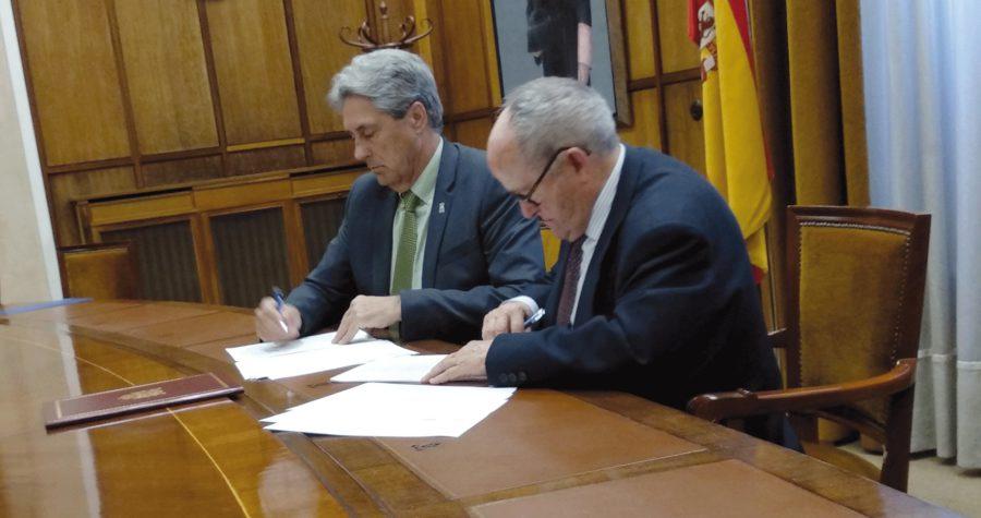 Firma UAH y Museo Ángel Gallego Esteban
