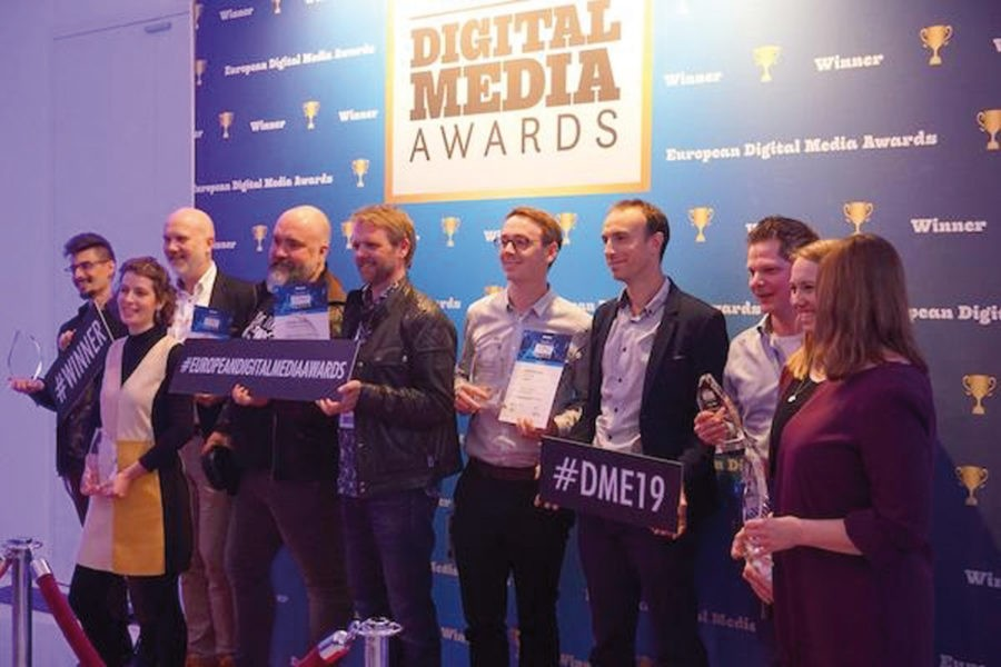 Ganadores de los premios European Digital Media Awards de WAN-IFRA
