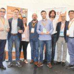 Ganadores de la primera edición de los Premios de Etiquetas de AIFEC
