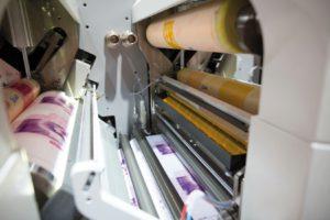 impresión de etiquetas