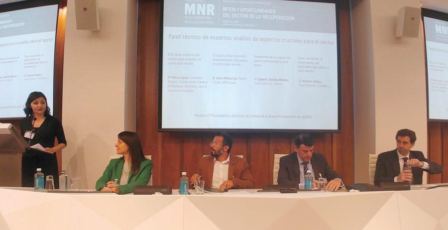 II Encuentro MNR de la cadena del reciclaje del papel