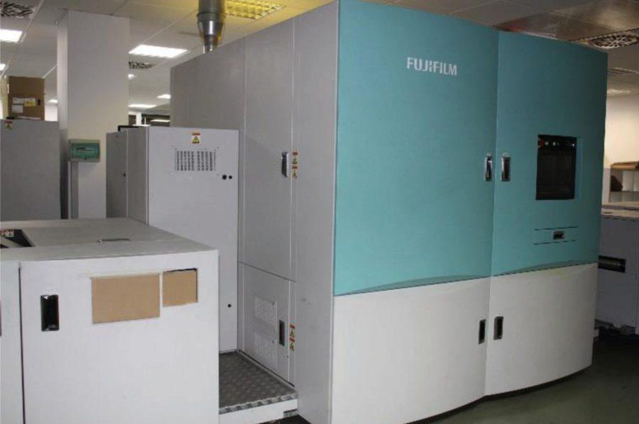 Sistema FUJIFILM Jet Press 540W - Comeco