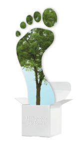 A pegada de carbono da embalagem