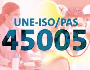 UNE-ISO-PAS-45005