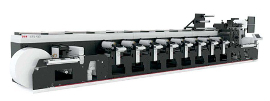 Máquina flexográfica MPS