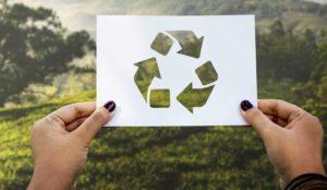 El papel reciclado