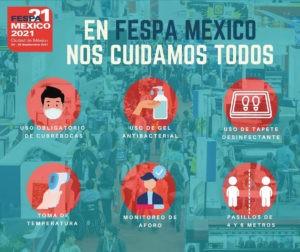 Protocolo FESPA México 2021